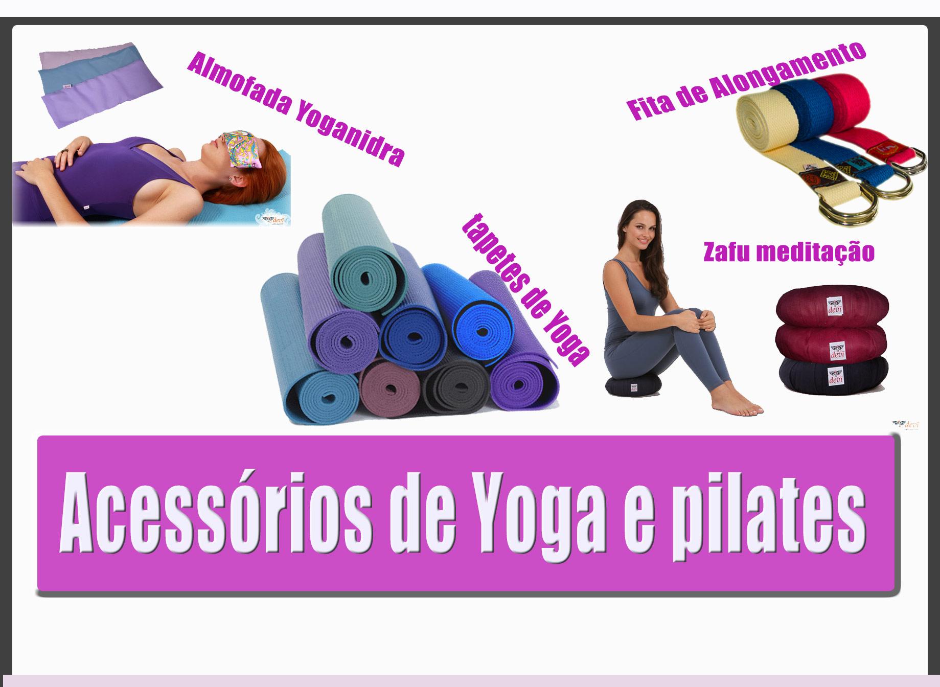 Acessórios de Yoga e Pilates