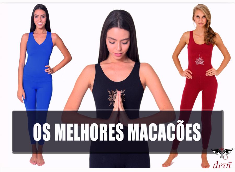 Melhores macacões para praticar Yoga e Pilates