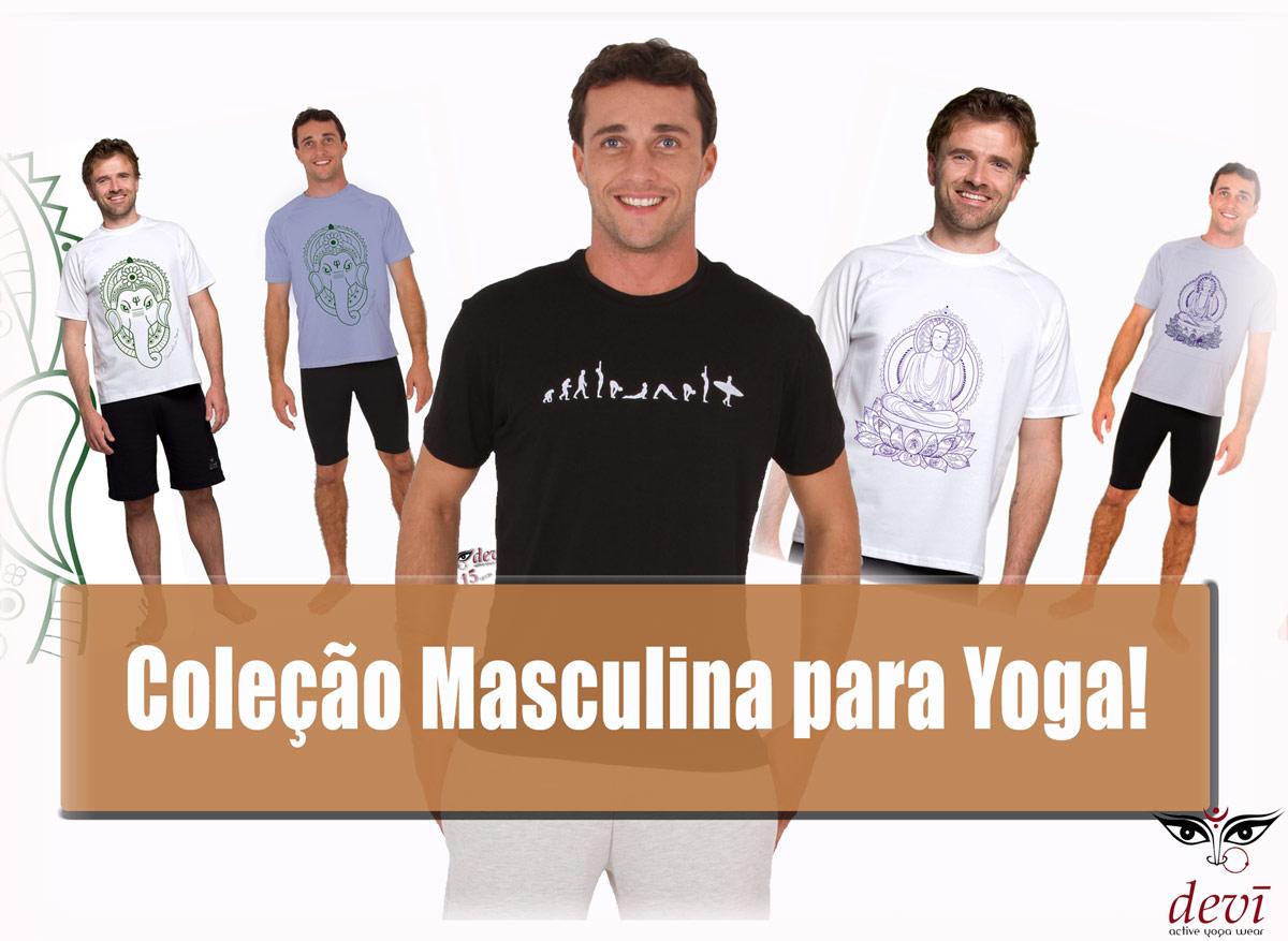 coleção masculina yoga