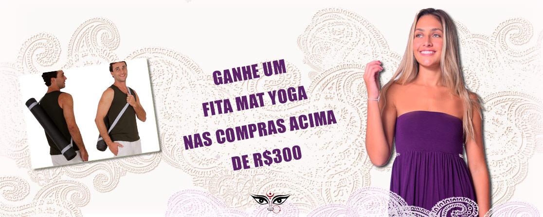 Ganhe uma fita mat yoga