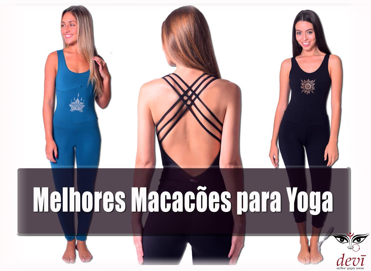 melhores macacões de yoga