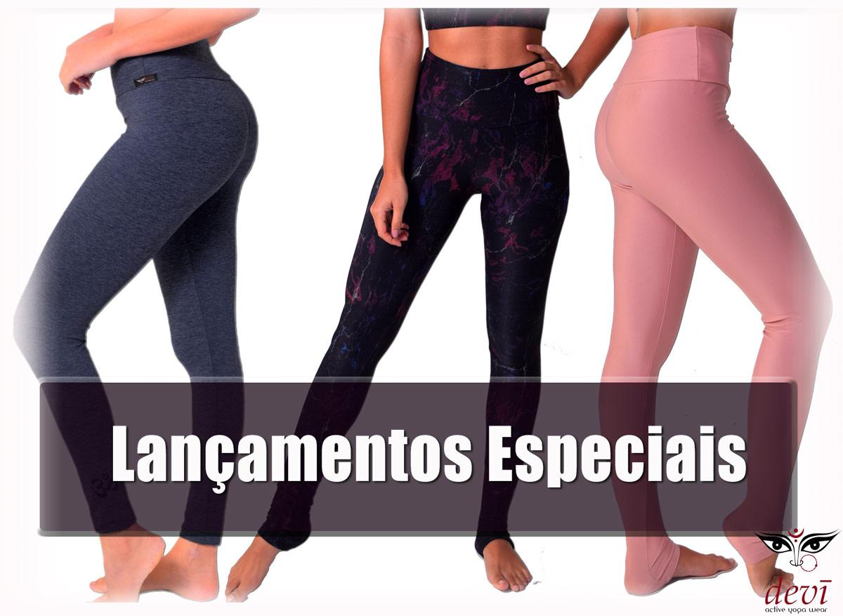 lançamentos leggins para yoga