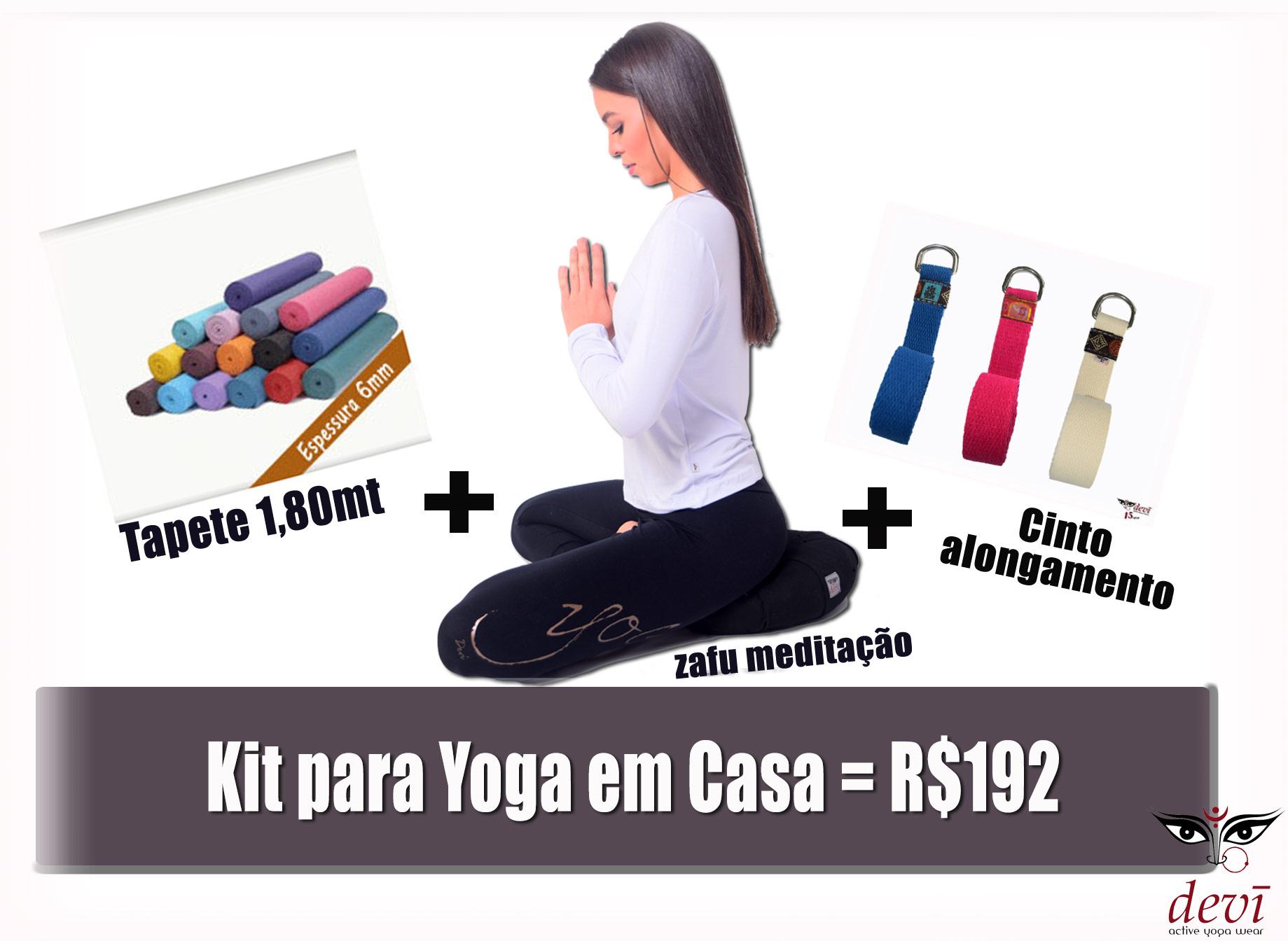 Kit Yoga em casa