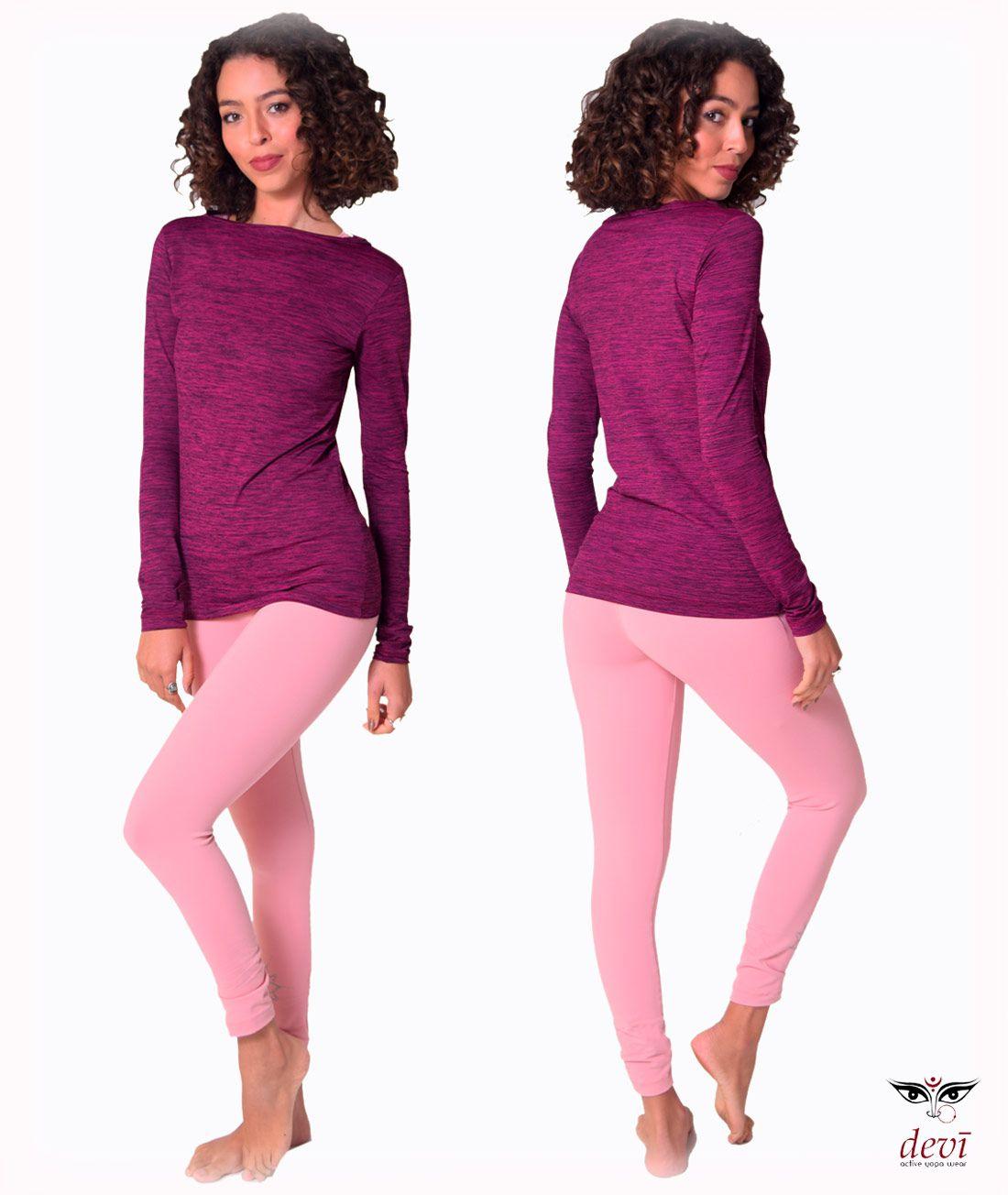 Blusa Asana Yoga Devi Pink
