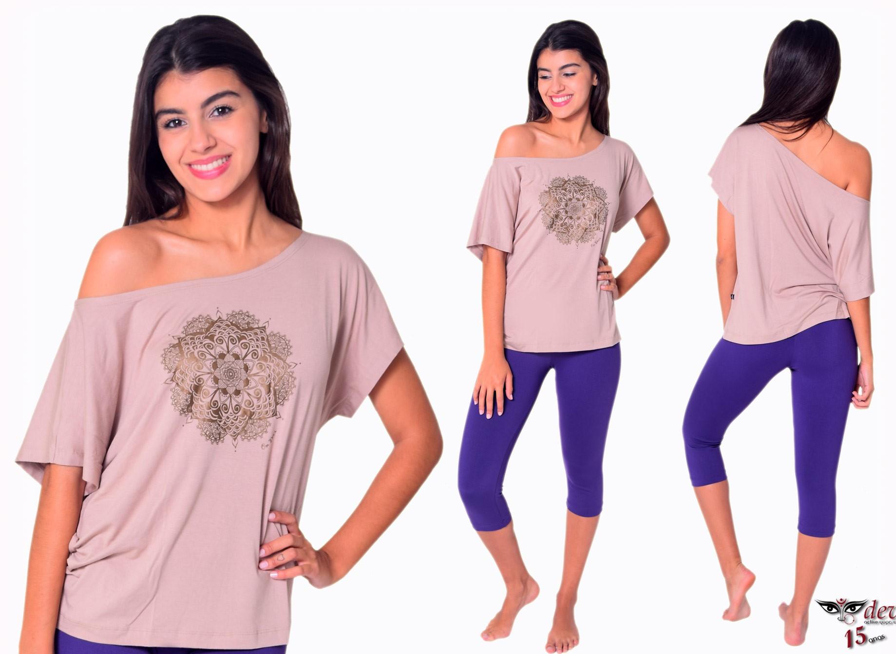 Blusa Yoga Mandala Pavan