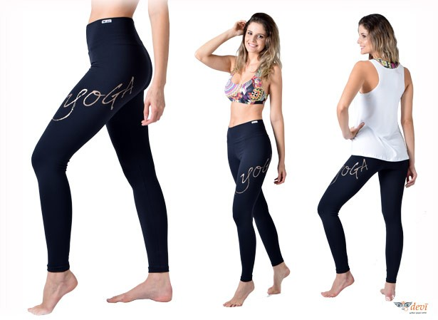 Calça Legging  LOVE YOGA