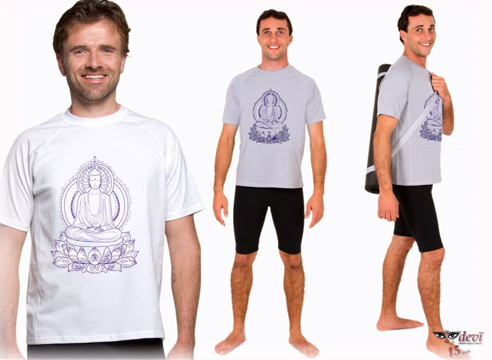 Camiseta Buda   Devi