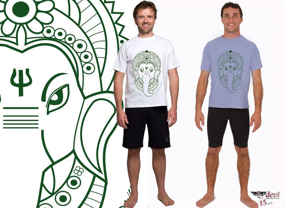 Camiseta Ganesha  Devi