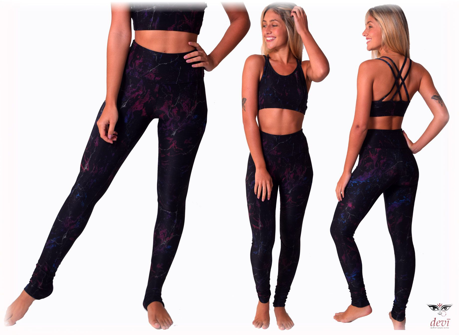 Legging Yoga Devi Abstrato