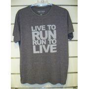 Camisa RUN SHOP - Live to Run. Run to Live