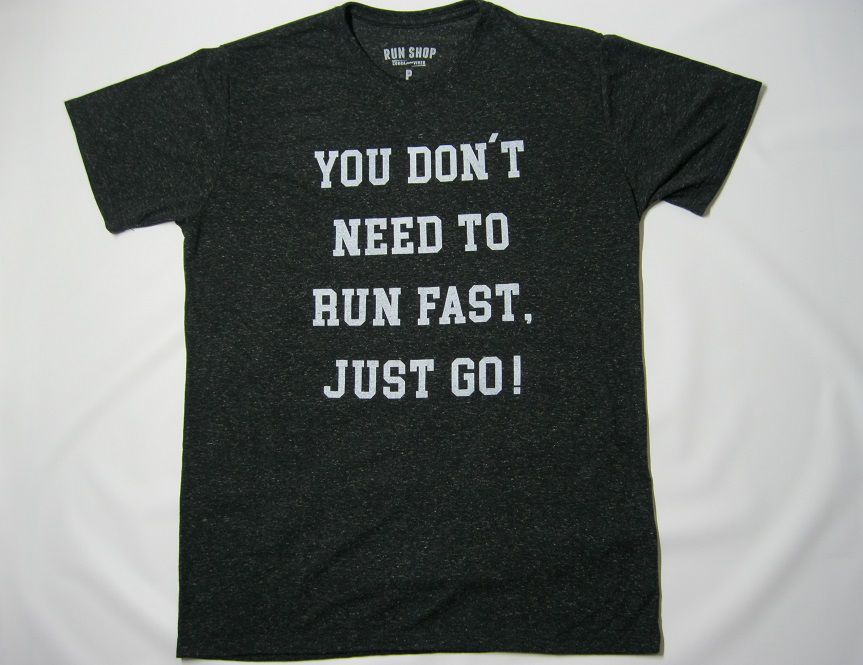 Camisa RUN SHOP - You don't need to run fast - Masculina