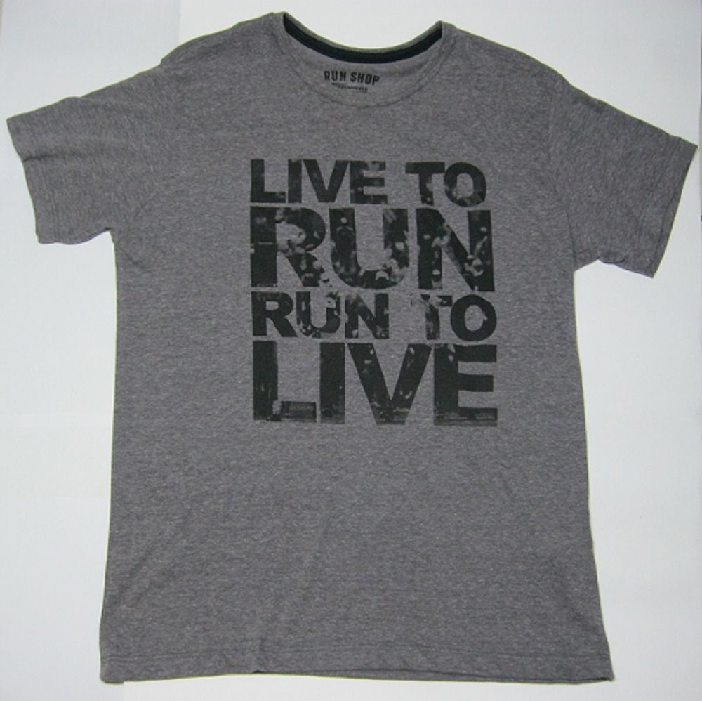 Camisas RUN SHOP - Live to run. Run to live