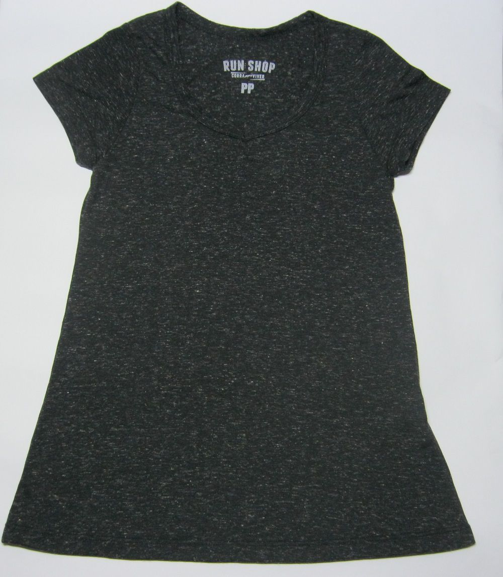 Camisa RUN SHOP - Sem estampa - Gola V