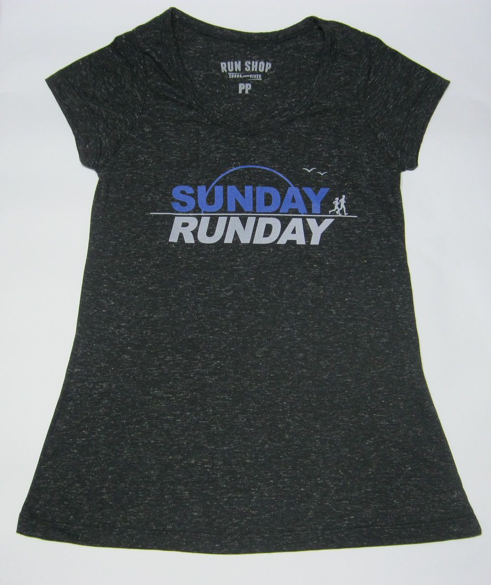 Camisas RUN SHOP - Sunday - Run Day - Feminina