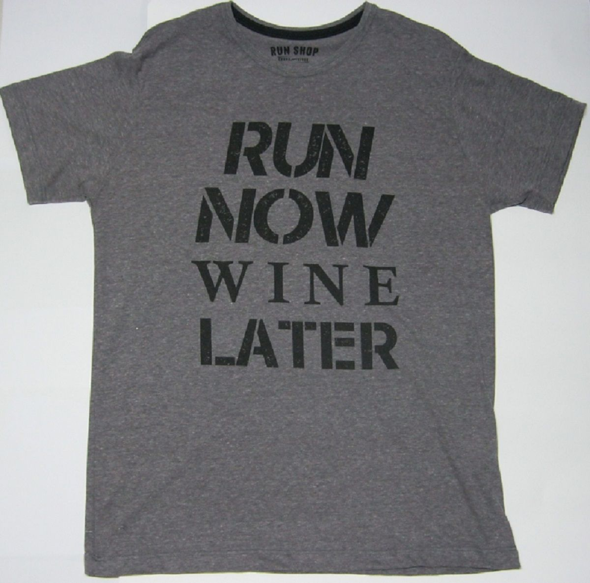 Camisas RUN SHOP - Run now wine later