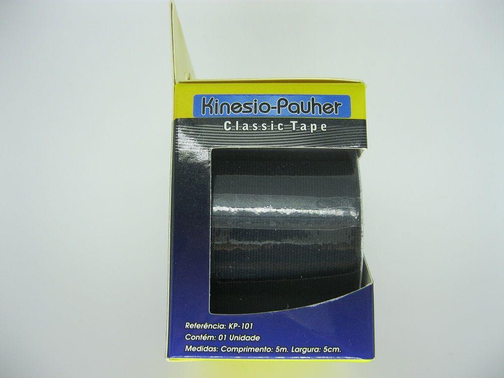 Kinesio Pauher Classic Tape - Preta