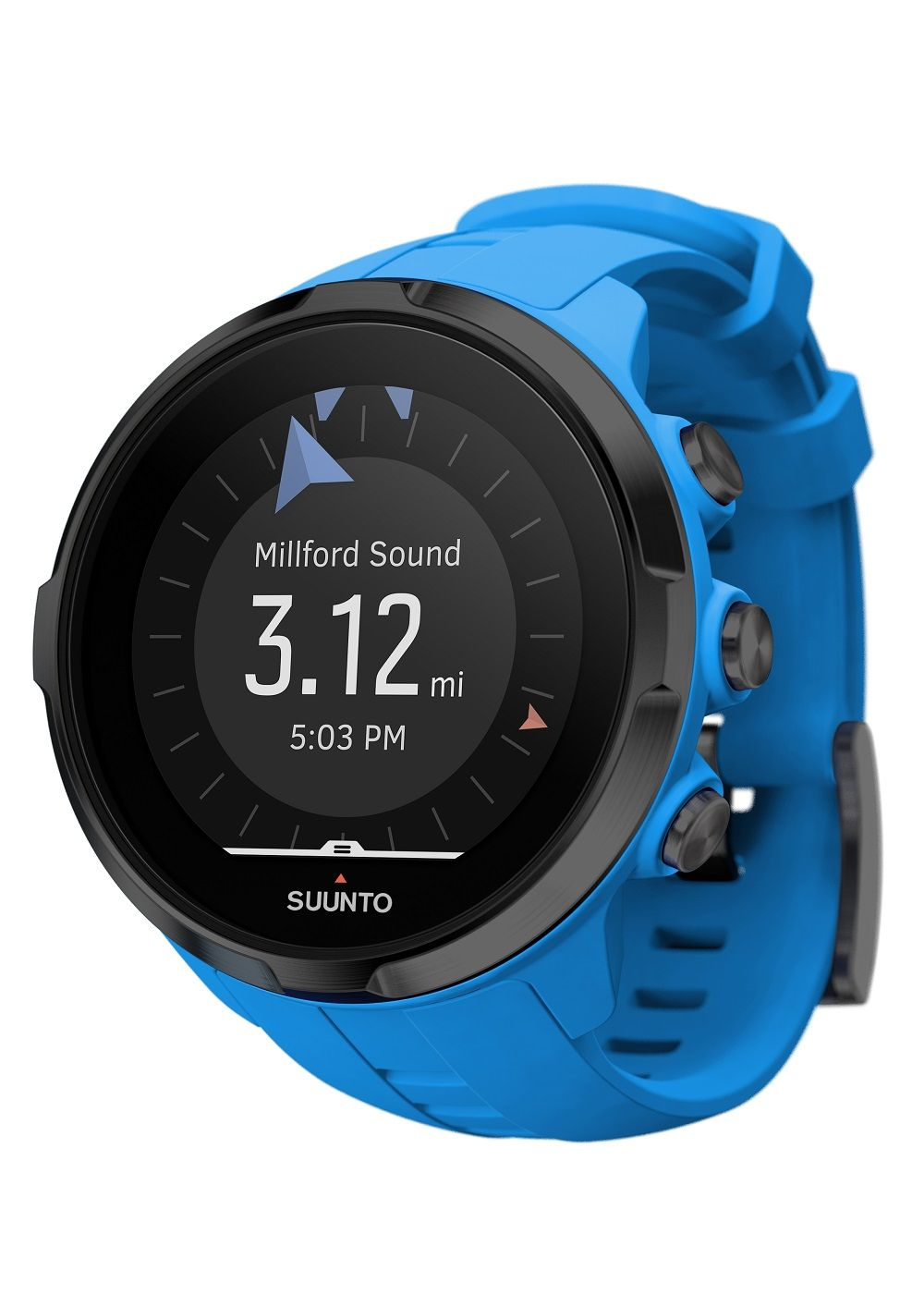 Relógio Suunto - SPARTAN - Sport Wrist HR Blue - Front View_INS-Activity calories
