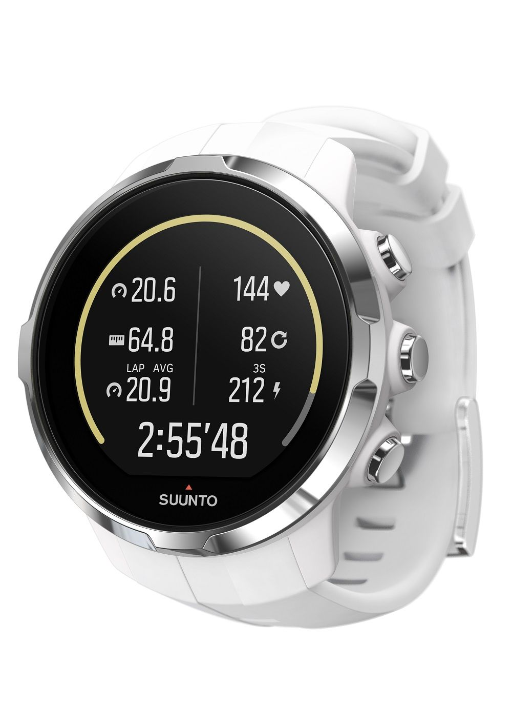 Relógio Suunto - SS022651000 - SPARTAN - Sport White - Front View_INS-Activity-Calories-Today