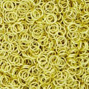 Argola p/ Montagem - Dourada - 5mm