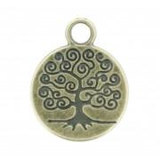 Árvore da Vida - Ouro Velho - 18mm