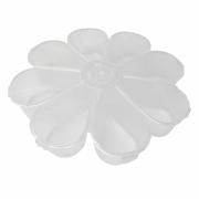Caixa Organizadora Flor - Transparente