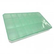 Caixa Organizadora - Verde Transparente