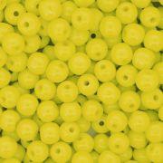Contas de Porcellana® - Amarela - 6mm