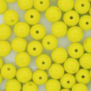 Contas de Porcellana® - Amarela - 8mm