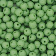 Contas de Porcellana® - Verde - 6mm