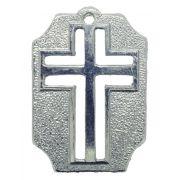 Crucifixo - Metal - Níquel - 4,5cm - 01 Peça