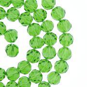 Fio de Cristal - Bello® - Verde Claro Transparente - 8mm