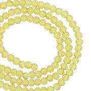 Fio de Cristal - Piatto® - Âmbar Claro Transparente - 4mm