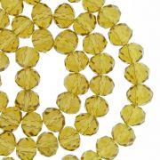 Fio de Cristal - Piatto® - Ambar Claro Transparente - 8mm