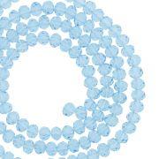 Fio de Cristal - Piatto® - Azul Claro Transparente - 4mm