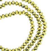 Fio de Cristal - Piatto® - Dourado - 4mm
