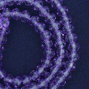 Fio de Cristal - Piatto® - Lilás Transparente - 6mm