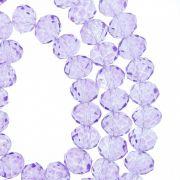 Fio de Cristal - Piatto® - Lilás Transparente - 8mm