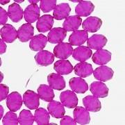 Fio de Cristal - Piatto® - Magenta Transparente - 8mm