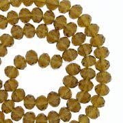 Fio de Cristal - Piatto® - Marrom Transparente - 6mm