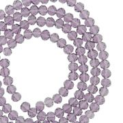 Fio de Cristal - Piatto® - Roxo Transparente - 4mm