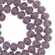 Fio de Cristal - Piatto® - Roxo Transparente - 8mm