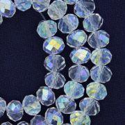 Fio de Cristal - Piatto® - Transparente Irizado - 8mm