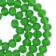 Fio de Cristal - Piatto® - Verde Escuro Transparente - 8mm