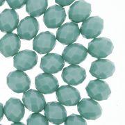 Fio de Cristal - Piatto® - Verde Turquesa - 10mm
