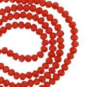 Fio de Cristal - Piatto® - Vermelho Transparente - 4mm