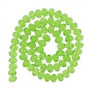 Fio de Cristal - Verde Transparente - 12mm - Pneu