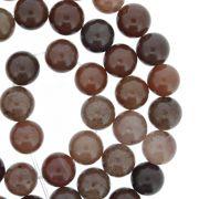 Fio de Pedra - Pietra® - Ágata Rosé - 8mm