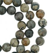 Fio de Pedra - Pietra® - Jaspe - 8mm