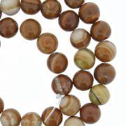 Fio de Pedra - Pietra® - Jaspe Brown - 8mm