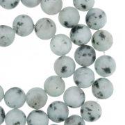 Fio de Pedra - Pietra® - Jaspe Kiwi Fosca - 8mm